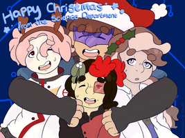 FL0CK Event - CHRISTMAS by SketchingStuff