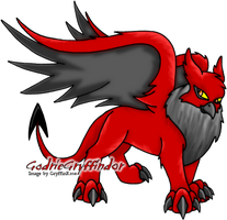 Godric - Red Darigan Eyrie by RoseSagae