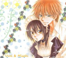Usui and Misa chan by La-cruciatus