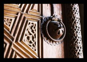handle whith wood carving by gli