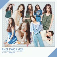 PNG PACK#24 -  Sulli 9PNGs - By Yangyanggg by Yangyanggg