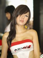 asian racing queen girl 2 by Lord-Sanada