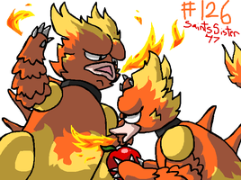 #126 Magmar by SaintsSister47