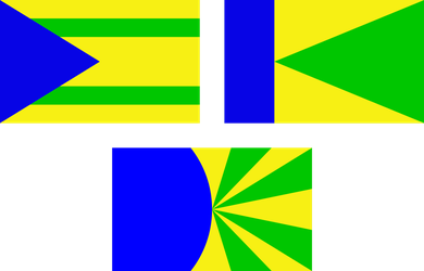 Flag of the Terrestric Republic: Drafts, Part 3 by RandomGuy32