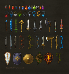 warlock icon set by brainchilds