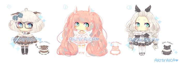 Points/Paypal Adoptable Auction 4: [CLOSED] by ArtsyAica