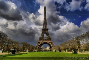 Eiffel Tower 0338o by Haywood-Photography