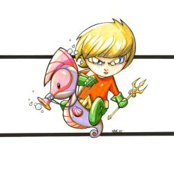 Baby Aquaman by olivernome