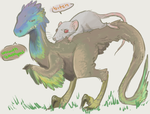 Dinobot - feathers by RottenDeadpan