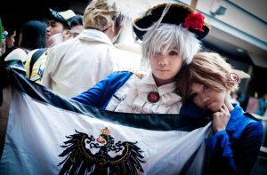 (APH - Italy and Prussia) In a darker light.. by Felibuuu