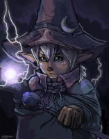 Black Mage Lighsovit ::Digital:: by lavonia