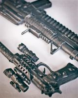 Prop Guns - M4 and Beretta 1 by RyanLord