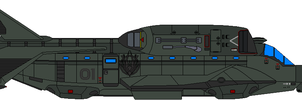 Colonial Warthog Dropship by Kelso323