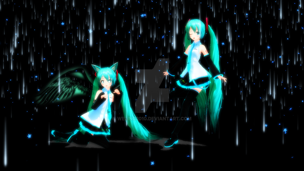 Miku by weling2010