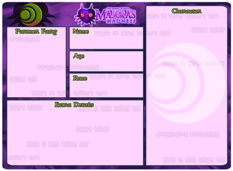 [Majora's Madness] Courage Faction Character Sheet by MM-Admin