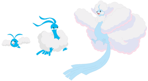 Swablu, Altaria and Mega Altaria Base