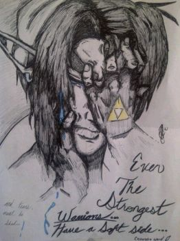 Crying Link by FrEaKyOuRmInD13