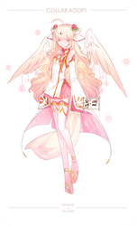 Rose Angel Collab Adopt [AUCTION] [OPEN] by douNAI