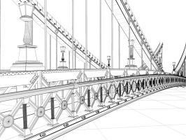 Bridge 0010 mesh by NIKOMEDIA