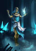 Ayleid mage by 89Red