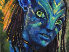 Neytiri  - FINISHED by TinyAmazon