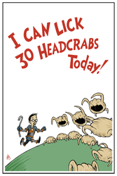 I Can Lick 30 Headcrabs Today! by DrFaustusAU