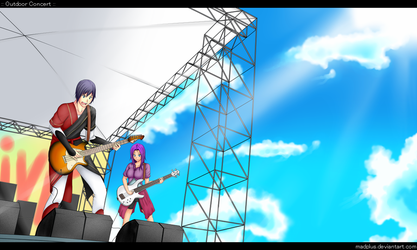 Outdoor Concert by MysticPot