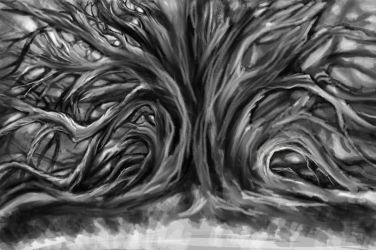 Tree unfinished by iscalox