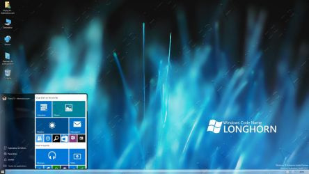 Windows 10 Insider Preview 10125 - Retrophase 1 by AtheneRa