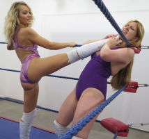 JACQUELYN vs BECCA: PRO STYLE # 4 by sleeperkid