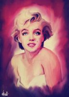 Marylin pop art by DivvuartRome