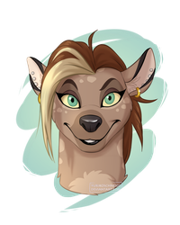 Me As Hyena by YurikoSchneide