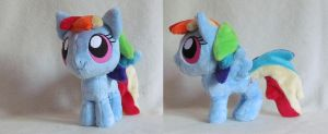 Chibi Dash open wings by MagnaStorm