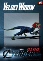 #05 Velociwidow by DigitalGreen