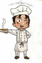 chibi chef marco by spotflavoured