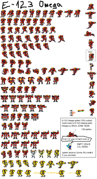 E-123 Omega sprites by sowia