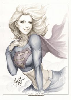 Supergirl Original 3 by Artgerm