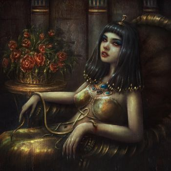 Cleopatra's death by Incantata
