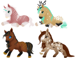 Chibi Adopts - CLOSED by Bright-Button