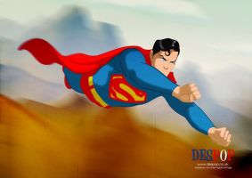 Christopher Reeve Style Superman by Des Taylor by DESPOP