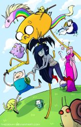 Adventure Time by DIN0LICH