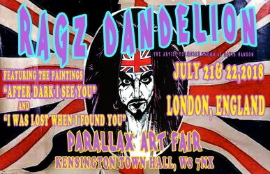 British Flag Ragz Tour Poster by ragzdandelion