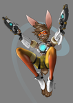 Bunny Tracer by MischaCelFrumos