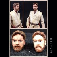 Star Wars Black series Obi Wan repaint by hunterknightcustoms