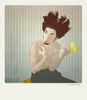 Boy and Hairdryer by temabina