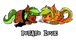 Potatolove by PoneBooth