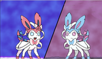Project Sylveon Vs Sylveon shiny By Rockman6493 by RockMan6493