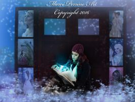 Reading is the Doorway to the Universe by marphilhearts