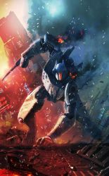 Pacific Rim: Tales from the Drift cover by LivioRamondelli