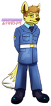 25$ Commission - Air Cadet Victor by LunaHydreigon